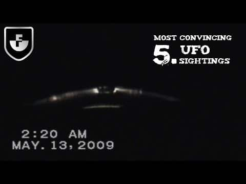5 Most Convincing UFO Sightings Caught on Camera