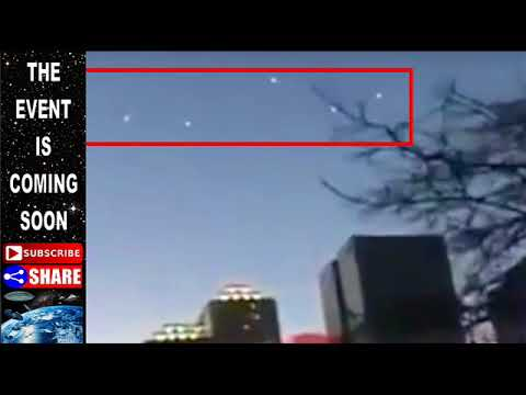 Mass UFO Sighting Phoenix Arizona August 2017