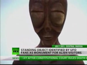 Russian Villagers Witness Alien Sighting