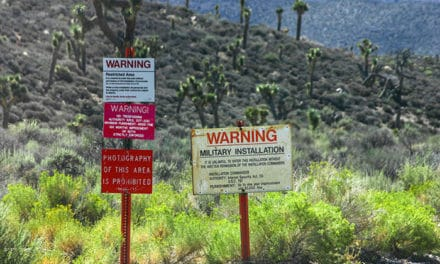High Profile Area 51 Big in UFO and Conspiracy Circles