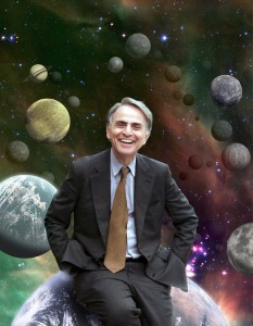 Did Carl Sagan have an opinion about aliens and ufos?