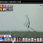Policeman Shoots Transparent Alien