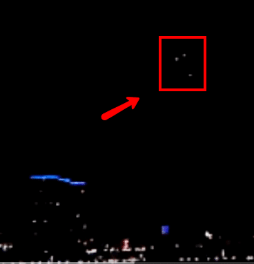 UFO Video – UFO Sightings over Cincinnati, Ohio Last Night